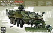 Stryker M1132 Engineer Squad Vehicle w/Surface Mine Plow 1-35 AFV Club