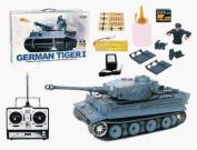 AZ Importer TAGTS 1:16 rc German tiger with smoke sound tank