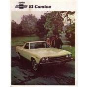 1969 CHEVROLET EL CAMINO Sales Brochure Literature Book