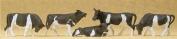 COWS - PREISER HO SCALE MODEL TRAIN FIGURES 14155