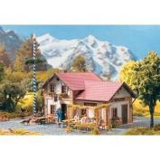 ROSENBACH BEER GARDEN CAFE & INN - PIKO G SCALE MODEL TRAIN BUILDINGS 62022