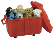 Early Childhood Resources Llc ELR0659RD Stackable Storage Trunk Red