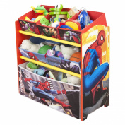 Marvel The Amazing Spider-Man Multi-Bin Toy Organiser