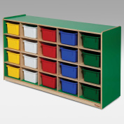 Wood Designs 20 Tray Colours Storage