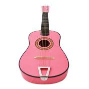 60cm Kids Children Mini Acoustic Toy Guitar Pink