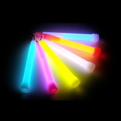 "6"" Glow Sticks, 24 Sticks,in Mixed Colours"