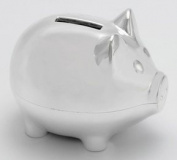 Knight-Piggy Bank Silver Plated Money Box [Baby Product]
