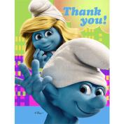 Hallmark 200694 Smurfs Thank-You Notes