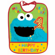 Amscan Sesame Street 1St - 1St Birthday Bib