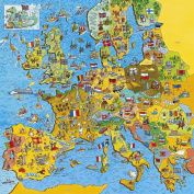 Gibsons Jigmap Europe jigsaw puzzle