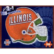 Late For The Sky 730799007255 University of Illinois Fightn Illini Illinois Puzzle