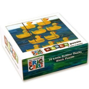 Eric Carle Rubber Ducks Block Puzzle by Mudpuppy