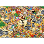 Asterix in Total Chaos, 1000 Piece Jigsaw Puzzle Made by Ravensburger