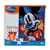 Disney Expressions Mickey 300 Piece Puzzle MADE IN USA PUZZLE