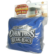 Driveway Games CTBGS-AC-00108 All Weather Corntoss Bean Bags, Royal Blue