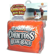 Driveway Games CTBGS-AC-00110 All Weather Corntoss Bean Bags, Orange