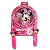 Disney Minnie Mouse Bow-tique Deluxe Jump Rope with Shaped Handles