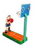 Alexander Taron Importer MM2005 Tin Basketball Game