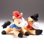 Cowboy Horse Stuffed Animal