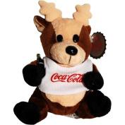 #0133 Coca-Cola Reindeer in Shirt - Coke Bean Bag Plush
