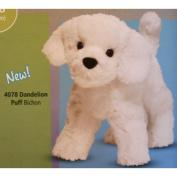 Bichon Frise Dog 8'' (Dandelion Puff) Plush by Douglas Toys