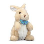 "Melissa and Doug Princess Soft Toys 12"" Plush Propper Bunny"