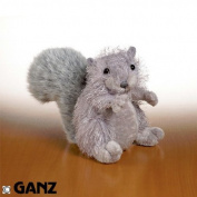 Webkinz Grey Squirrel with Trading Cards