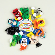 Rite Lite TYPP-PUP-TEN Passover Ten Plagues Finger Puppets- Pack of 3