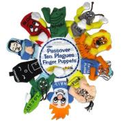 """Passover """"Ten Plagues"""" Finger Puppets Judaica"""