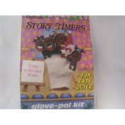 Christmas Puppet Storytelling Glove-pal Craft Kit ; Rudoph the Red Nosed Reindeer