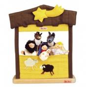 Kathe Kruse Finger Puppet Nativity Theatre