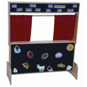 Deluxe Puppet Theatre with Flannelboard