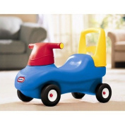 Little Tikes 4163 Blue, Red, Yellow Push & Ride Racer