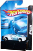 2007 Mystery Car Series Bugatti Veyron Ice White, Loose, Hot Wheels Collectible 1:64 Scale Die Cast Collector Car