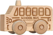Maple Landmark 71205 Schoolhouse Naturals - Natural Scoots School Bus