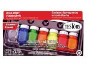 Fluorescent Enamel Paint Set