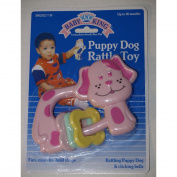 Baby King Puppy Dog Rattle Toy