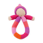 Pixie Ring Rattle - Pink