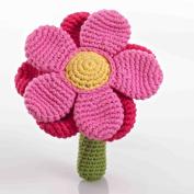 Flower Rattle - Pink