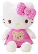 Hello Kitty 20cm Plush Rattle