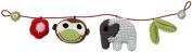 Franck & Fischer Jungle Pram Rattle Monkey-Elephant
