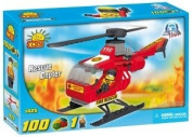 Cobi Action Town Helicopter Bricks Game