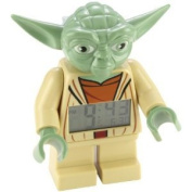 Yoda Mini Figure Clock - Lego Star Wars