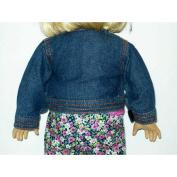 Denim Jacket for American Girl 46cm Dolls