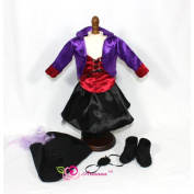 46cm Doll Clothes/clothing Fits American Girl - Jezebel 6pcs Pirate Doll Costume