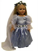 The Queens Treasure AGCFGO Doll Clothes for American Girl 18 Inch Dolls Royal Court Gown