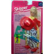 Barbie SKIPPER Stencil It Fashions Western Clothes