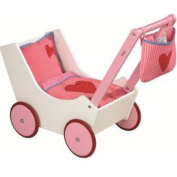 Doll Pram With Baggie and Bottle
