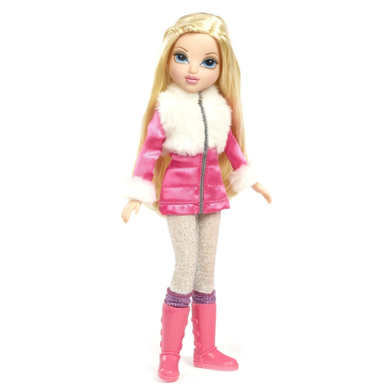 moxie girlz moxie girlz magic glitter snow doll avery by moxie girlz