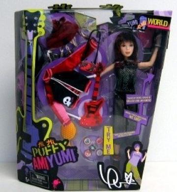 Hi Hi Puffy Ami Yumi Doll Figure Yumi By Puffy Ami Yumi